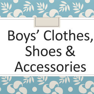 Boy / toddler / baby clothes, shoes, accessories